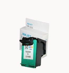 Hewlett-Packerd NuOffice HP 343 C8766EE Color Remanufactured inkt cartridge