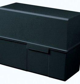 HAN HAN kaartenbak breed A5 kunststof zwart