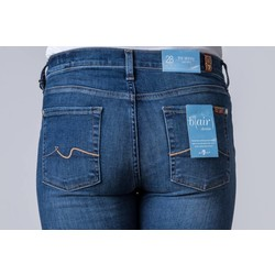 7 FOR ALL MANKIND THE SKINNY BAIR DENIM BLUE