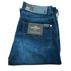 7 FOR ALL MANKIND SLIMMY TAPERED SPEC EDITION LUXPERF DARK BLUE