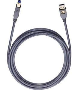 Oehlbach USB A/B 150 1,5M Art.-nr 9131