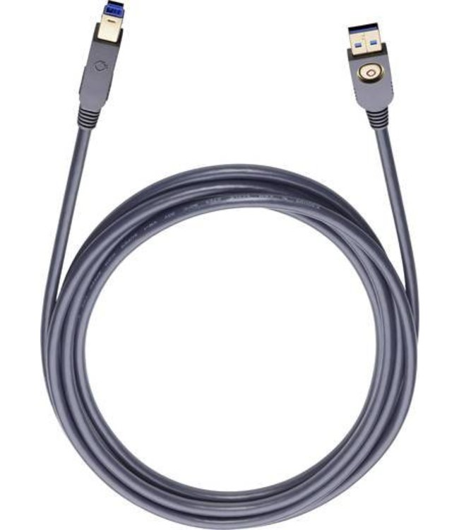 Oehlbach USB A/B 150 1,5M Art.-nr 9131 USB-2.0-kabel