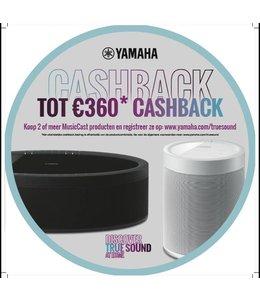 Yamaha CashBack actie Yamaha 2018