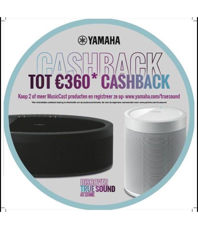Yamaha CashBack actie Yamaha 01-11-2018 t/m 31-01-2019