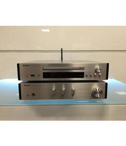 Yamaha A-670 versterker met CD-NT670D cd speler/streamer
