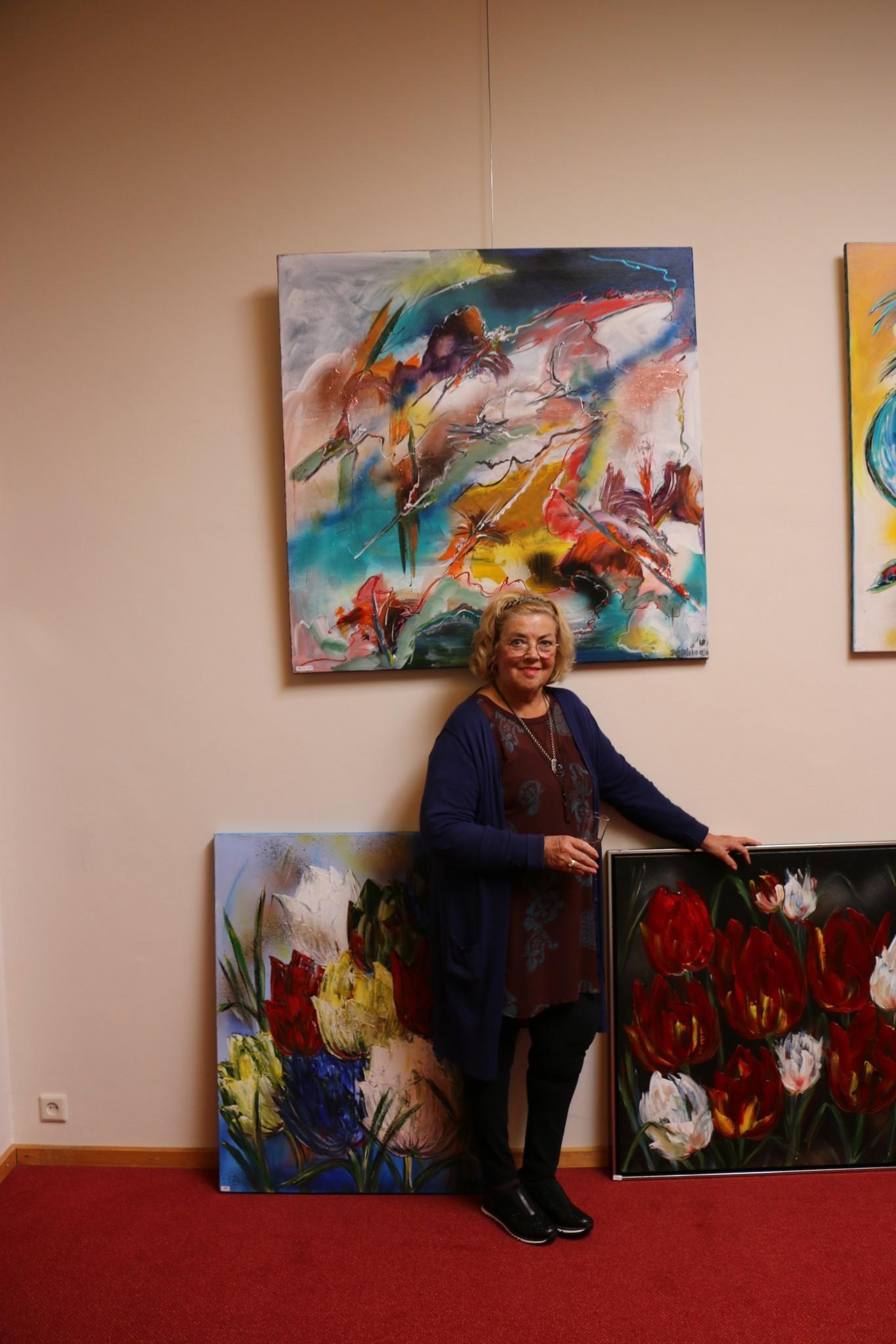 Expositie schilderijen Séphina
