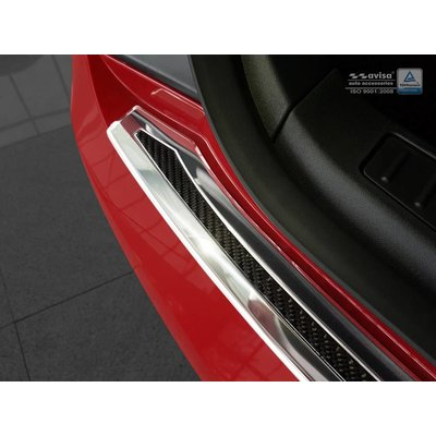 Avisa Carbon Ladekantenschutzleiste für Tesla S Liftback