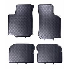 Geyer & Hosaja Gummi Fußmatten Geyer Hosaja für Volkswagen Golf IV Bora Beetle / Skoda Octavia / Seat Leon