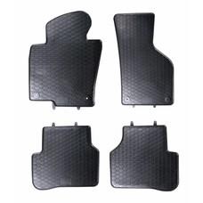 Geyer & Hosaja Gummi Fußmatten Geyer Hosaja für Volkswagen VW Passat B6 B7 CC