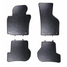 Geyer & Hosaja Gummi Fußmatten Geyer Hosaja für Volkswagen VW Golf 5 6 Jetta Scirocco