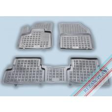 Rezaw Plast Gummi Fußmatten für Peugeot 3008 II