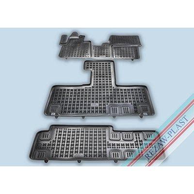 Rezaw Plast Gummi Fußmatten für Citroen Spacetourer / Peugeot Traveller / Toyota ProAce Verso