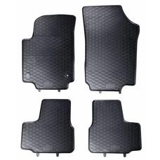 Geyer & Hosaja Gummi Fußmatten Geyer Hosaja für Volkswagen up! / Skoda Citigo / Seat Mii