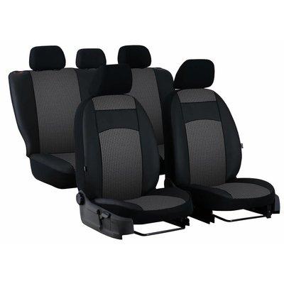 Pok Ter Universal Autositzbezug Royal (ECO-Leder & Stoff Polsterung)