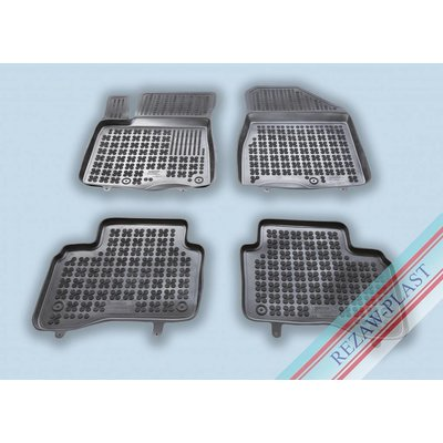 Rezaw Plast Gummi Fußmatten für Kia Stonic