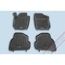 Rezaw Plast Gummi Fußmatten für Volkswagen Polo VI