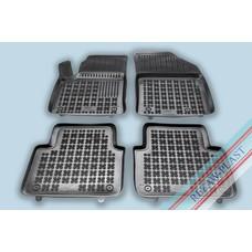 Rezaw Plast Gummi Fußmatten für Opel Crossland X