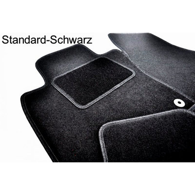 Vopi Velours Fußmatten für Audi A5 Sportback Type F5