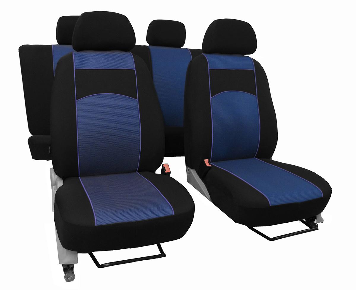 2 im Design VIP-1 BLAU. Für Master ab 2014 paßgenaue Sitzbezüge 1