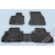 Rezaw Plast Gummi Fußmatten für BMW X5 G05