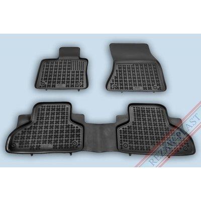 Rezaw Plast Gummi Fußmatten für BMW X5 X5 G05