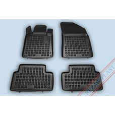Rezaw Plast Gummi Fußmatten für Peugeot 508 II