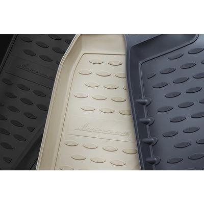Novline 3D Gummi Fußmatten für Audi A3 III 8V