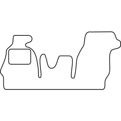 Vopi Velours Fußmatten für Volkswagen LT
