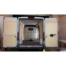 Adaptiqa Laderaumverkleidung für Kleintransporter L1H1 (Trafic, Vivaro, Vito, Transit Custom, Transporter)