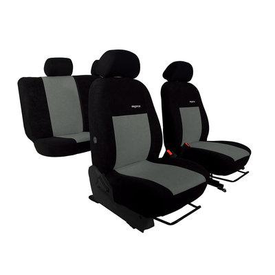 Pok Ter EINZELSTÜCK! Maßgenauer Stoff Autositzbezug für Seat Alhambra (nur 2 Sitzreihe)