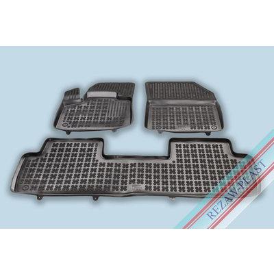 Rezaw Plast Gummi Fußmatten für Peugeot 5008 II