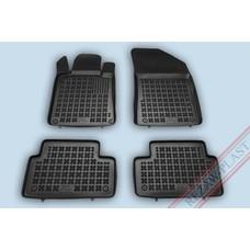 Rezaw Plast Gummi Fußmatten für Peugeot 207 I