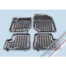 Rezaw Plast Gummi Fußmatten für Peugeot 208 II / Opel Corsa F