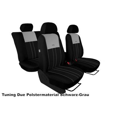 Pok Ter Maßgenauer Stoff Autositzbezug für Volkswagen VW T6