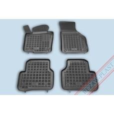 Rezaw Plast Gummi Fußmatten für Volkswagen Passat B6 B7, Passat Variant, CC
