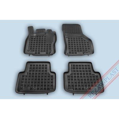 Rezaw Plast Gummi Fußmatten für Volkswagen T-Roc