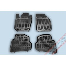 Rezaw Plast Gummi Fußmatten für Skoda Fabia III SW