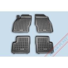 Rezaw Plast Gummi Fußmatten für Opel Corsa D E