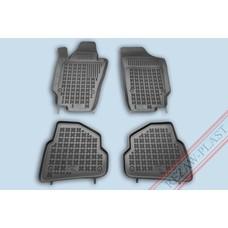Rezaw Plast Gummi Fußmatten für Seat Ibiza IV