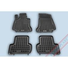 Rezaw Plast Gummi Fußmatten für Mercedes C W205