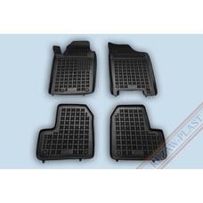 Rezaw Plast Gummi Fußmatten für Peugeot 206