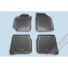 Rezaw Plast Gummi Fußmatten für Toyota Corolla VIII