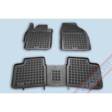 Rezaw Plast Gummi Fußmatten für Toyota Corolla XI