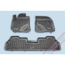Rezaw Plast Gummi Fußmatten für Toyota Corolla Verso II