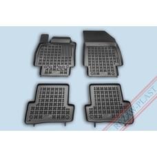 Rezaw Plast Gummi Fußmatten für Renault Clio III / Grandtour III / Captur