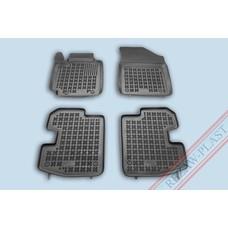 Rezaw Plast Gummi Fußmatten für Toyota Yaris P1 3-türer