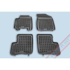 Rezaw Plast Gummi Fußmatten für Toyota Yaris P1 5-türer