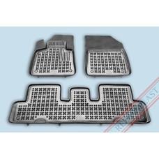 Rezaw Plast Gummi Fußmatten für Citroen C4 Picasso II / C4 Spacetourer