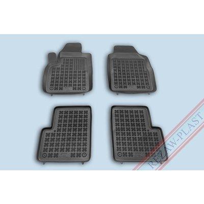Rezaw Plast Gummi Fußmatten für Fiat 500