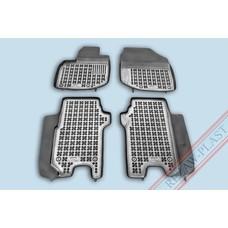 Rezaw Plast Gummi Fußmatten für Honda Jazz II